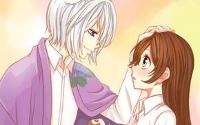 Картинка романтика, Kamisama Hajimemashita, Очень приятно Бог, Томое, Нанами