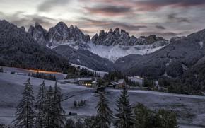 Картинка Trentino-Alto Adige, Funes, Santa Maddalena Alta