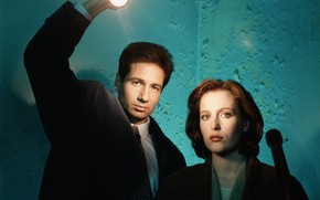 Картинка The X-Files, Секретные материалы, Скалли, Малдер