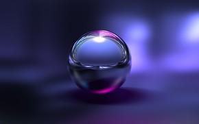 Картинка Purple, Amazing, Wallpaper, Ball