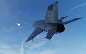 Картинка Истребитель, КБ МиГ, МиГ-21бис, Фронтовой истребитель