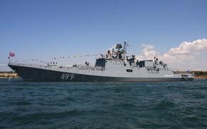 Картинка фрегат, Севастополь, Адмирал Макаров