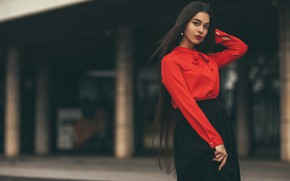 Картинка взгляд, Девушка, Виктор Амбарцумов