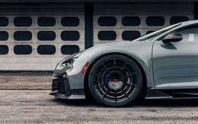 Картинка Bugatti, передняя часть, Chiron, 2020, Chiron Pur Sport