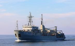 Картинка корабль, флот, балтика, специальный, вспомогательный