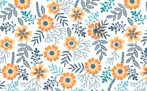 Картинка фон, текстура, цветочки