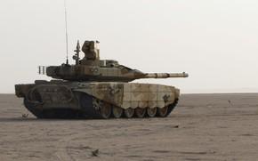 Картинка песок, танк, Т-90 МС, УВЗ, оружие России