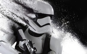 Картинка абстракция, солдат, Звёздные Войны