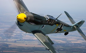 Картинка Messerschmitt, Luftwaffe, Hispano, HA-1112-M1L