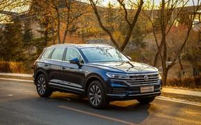 Картинка Volkswagen, Touareg, PHEV, Volkswagen Touareg, 2019, Volkswagen Touareg PHEV 2019