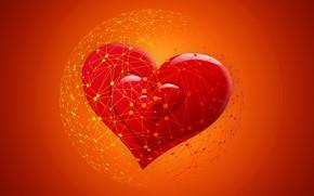 Картинка сеть, сердечки, интернет, онлайн знакомства