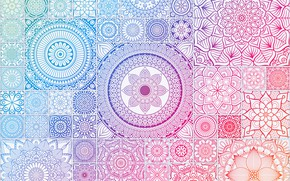 Обои фон, узор, орнамент, pattern, Geometric, Ornamental