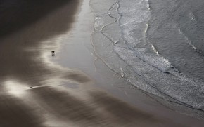 Картинка море, люди, берег
