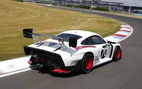 Картинка Porsche, Скорость, Трасса, Антикрыло, 2019, Porsche 935, Porsche 935 (991)