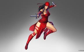 Картинка девушка, nintendo, marvel, Elektra Natchios, elektra, the black order, marvel ultimate alliance 3