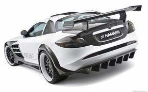 Картинка купе, суперкар, Mercedes-Benz SLR McLaren, hamann volcano