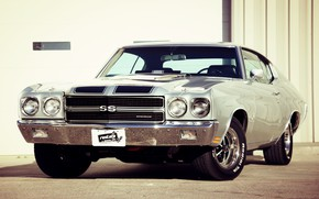Картинка Chevrolet, Muscle, Car, Classic, Coupe, Chevy, Old, Chevelle, Muscle car, SS
