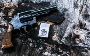 Картинка Gun, Revolver, Weapon, Lighter
