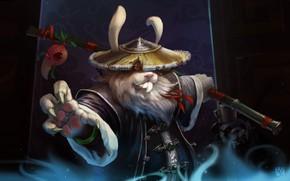 Картинка воин, фэнтези, арт, детская, Yan Bing, Lich Rabbit