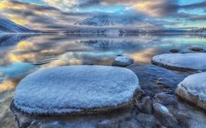 Картинка Канада, Юкон, озеро Кэтлин, Национальный парк Клуэйн
