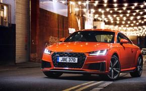 Картинка Audi, Coupe, Quattro, 2018, S-Line, TFSI, Audi TT