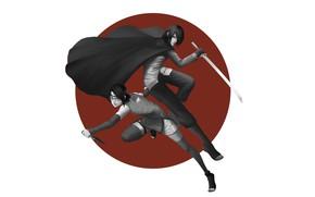Картинка Uchiha Sasuke, NARUTO, Uchiha Clan, Uchiha Sarada, Daughter, Boruto, Pixiv, Uchiha Symbol
