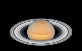 Картинка кольца, Сатурн, телескоп Хаббл