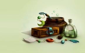 Картинка фэнтези, арт, варево, зелье, Natalia Iakovenenko, Potion making