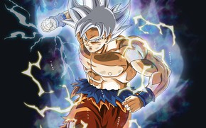 Картинка фон, сила, парень, Dragon Ball, Драконий жемчуг