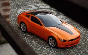 Обои Concept, Mustang, Ford, Giugiaro