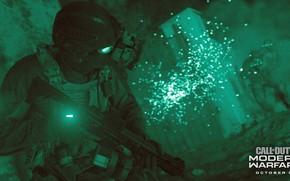 Картинка Green, COD, Modern Warfare, Weapon, Soldier, Mask, Armor, Assault, Mission, Call Of DUty, COD 2019