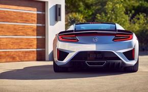 Картинка Honda, вид сзади, Acura, NSX, 2019