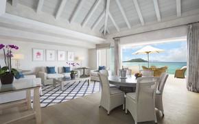 Картинка вилла, интерьер, living room, Flamands Villa
