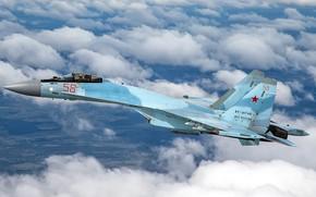 Картинка ОКБ Сухого, ВКС России, российский многоцелевой, многофункциональный истребитель поколения «4++», глубоко модернизированный сверхманевренный, с управляемым …