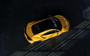 Картинка крыша, жёлтый, купе, Honda, кузов, Acura, NSX, 2020