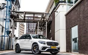 Картинка Mercedes, AMG, White, GLC63