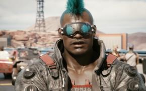 Картинка игра, киберпанк, CD Projekt RED, Cyberpunk 2077, Action/RPG