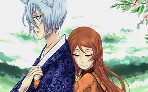 Картинка объятия, Kamisama Hajimemashita, Очень приятно Бог, Томое, Нанами