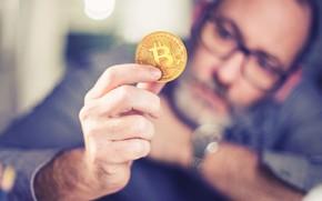 Картинка man, money, Thought, Bitcoin
