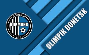 Картинка wallpaper, sport, logo, football, Ukrainian Premier League, Olimpik Donetsk