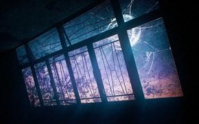 Картинка свет, комната, окно, разбито, by K&P