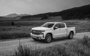Картинка Chevrolet, пикап, грунтовка, Silverado, High Country, 2020, 2500 Heavy Duty