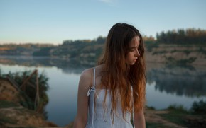 Картинка девушка, милая, локоны, Асхат Бардынов, Ксения Чапкаева