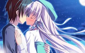 Картинка поцелуй, пара, двое, Angel Ring