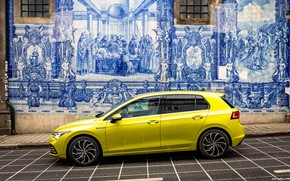 Картинка Авто, Volkswagen-Golf-Style-2020-3840x2160-023, Хетчбек