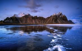 Картинка Исландия, Iceland, Vestrahorn