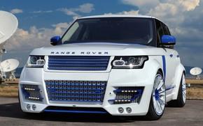 Картинка Range Rover, Car, White, Tuning, Lumma, Lumma Design, L405, CLR R
