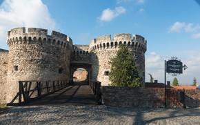 Картинка Сербия, Serbia, Belgrad, Белград, Belgrade Fortress, Белградская крепость, Kalemegdan Fortress