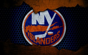 Картинка wallpaper, sport, logo, NHL, hockey, New York Islanders