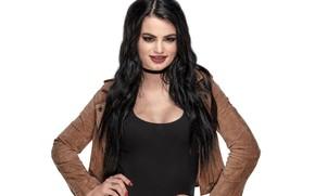 Картинка поза, макияж, куртка, рестлер, hair, WWE, Paige, Пэйдж, Saraya-Jade Bevis